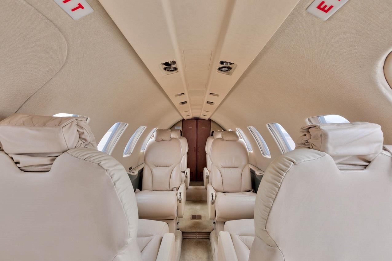 Private Jet Charter Cessna 550 Citation Bravo Glc