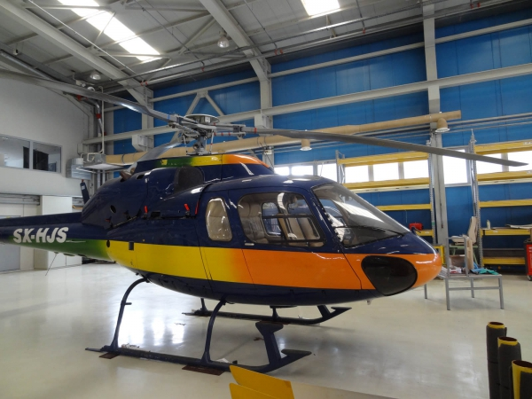 Helicopter Charter Eurocopter AS355 F2