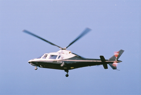 Helicopter Charter Agusta A109 AII